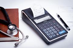 Kasa fiskalna Posnet Ergo - Posnet Ergo w gabinecie lekarskim