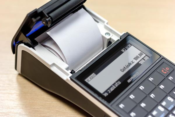Kasa fiskalna Posnet Ergo - Wydajny i szybki mechanizm drukujący